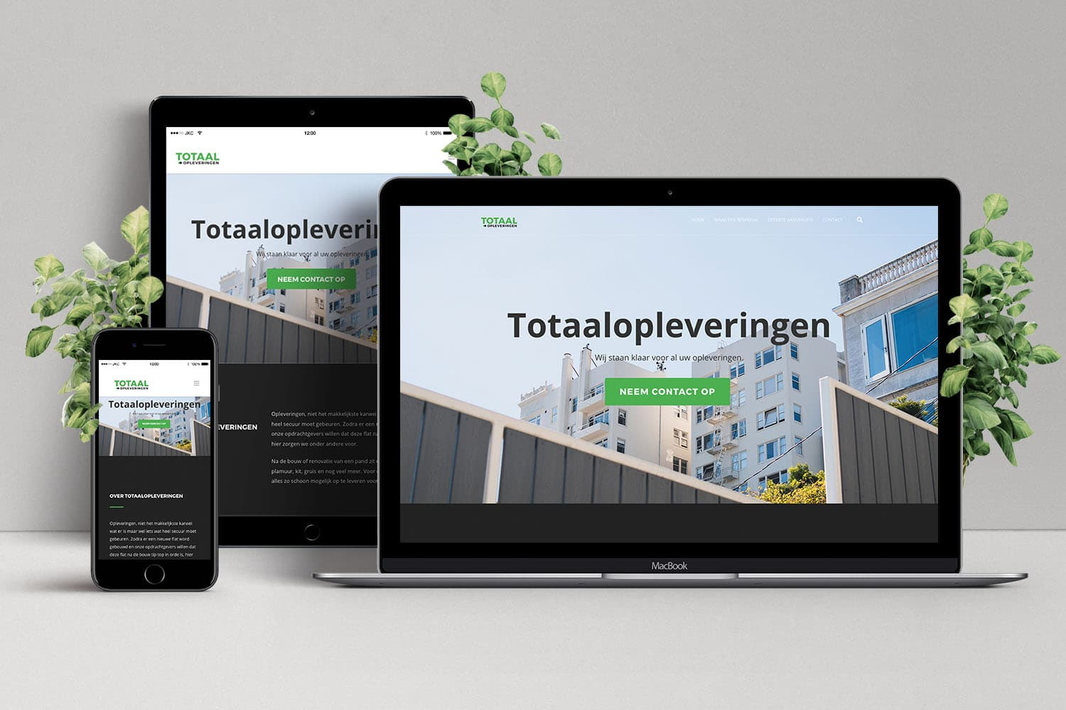 Portfolio - Totaalopleveringen | JKC Media